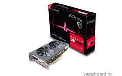 Original Sapphire Nitro+ RX 570 video card Radeon RX570 4G DDR5 graphics card DirectX12 2048SP