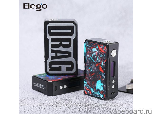 Продам VOOPOO DRAG 157W + Ammit Dual Coil