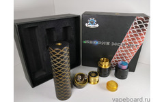 Steel Vape Sebone Mech Kit (black/gold)